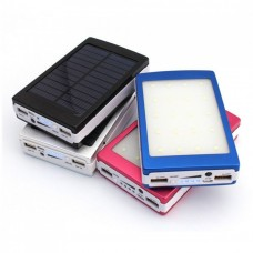 Power Bank Solar 90000 mAh зарядное с LED лампой
