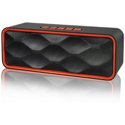 MEGA BASS Bluetooth стерео колонка SC-211 с USB, MicroSD, FM