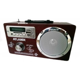 Atlanfa AT-R81 колонка с USB, CardReader, Радио